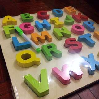 ABC Wooden Alphabets Toys