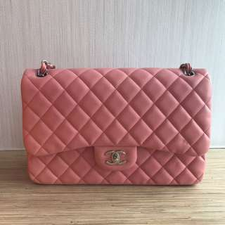 4af65b867511 chanel pink jumbo | Luxury | Carousell Singapore