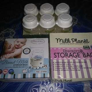 Storage Bags & Bottles