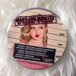 Mary lou Manizer The Balm Authentic