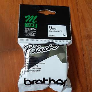 Brother P-touch 9mm Tape