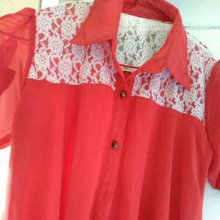 Half Brocade Shirt
