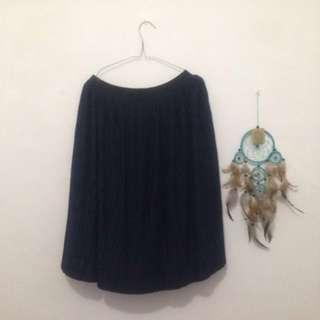 Uniqlo Blue Skirt