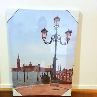 Stunning Venice  Canvas Portrait