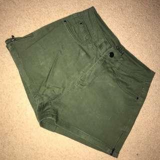 Khaki shorts size 8