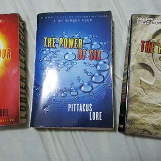 I am number four series book