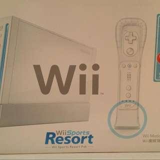 Wii Sports Resort %100 New.