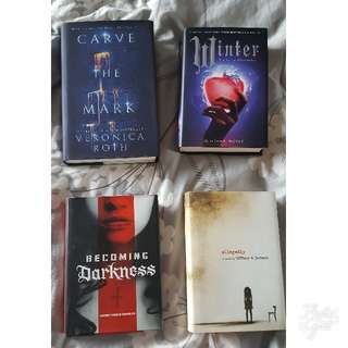 SALE: Young Adult Hardcover Books