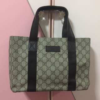 Authentic Gucci Luggage Small Tote Bag