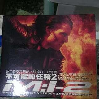 不可能的任務2-電影原聲帶CD(正版)