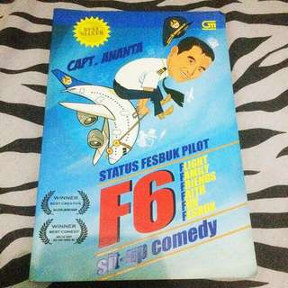 Status facebook pilot F6-sit up comedy by Capt Ananta (best seller)
