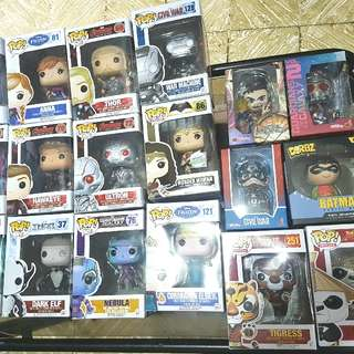 Mix FUNKO Pops, Dorbz And COSBY