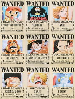 One Piece Poster Anime Manga