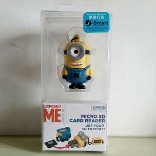 Minion Micro SD Card Reader