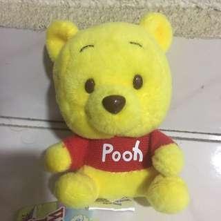 Winnie the Pooh Plushies Keyring