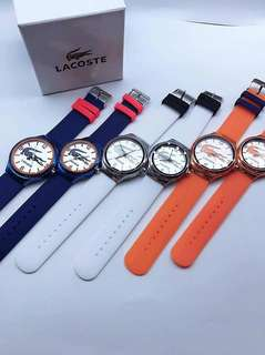 Lacoste Couple Watch