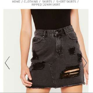 Black glassons skirt