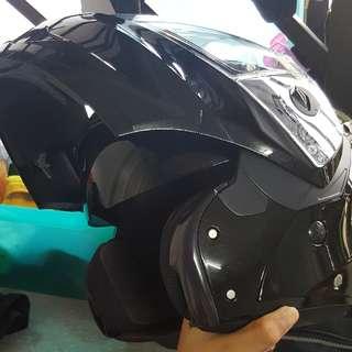 Flip- Helmet Caberg Duke Black (L)