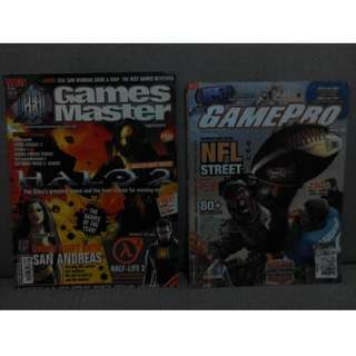PlayStation or PS2 game magazines