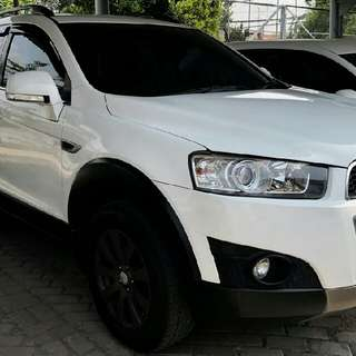 Chevrolet Captiva FL 2.4 At 2011 Bensin Putih