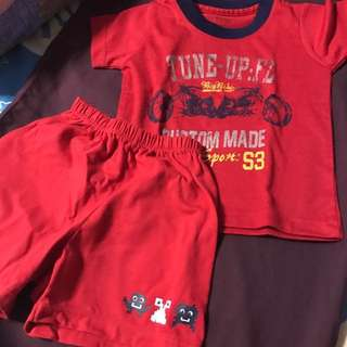 set of shirt and shorts for 6-9 months