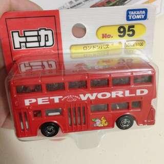 全新正貨Takara Tomy Tomica Pet World Bus