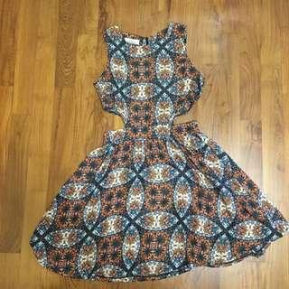 Hollyhoque Tribal Dress