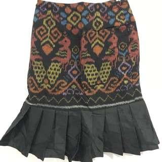 Rok Batik Ruffle
