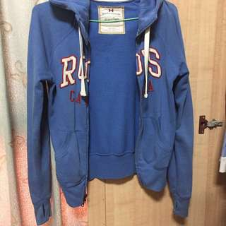 Roots薄外套 正品 藍色