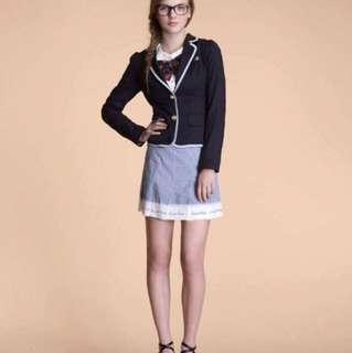 Knightsbridge 西裝外套M+褲裙S號(不拆售)