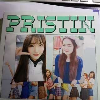 Pristin School Out Photocards