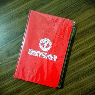 Official Manchester United Notepad