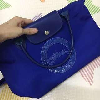 Preloved Longchamp Electric Blue