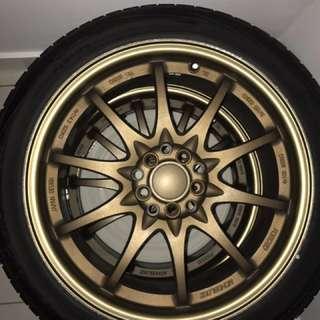 CE 28 Sport Rims + Bridgestone Tyre