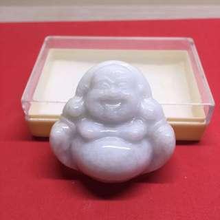Jadelite laughing buddha