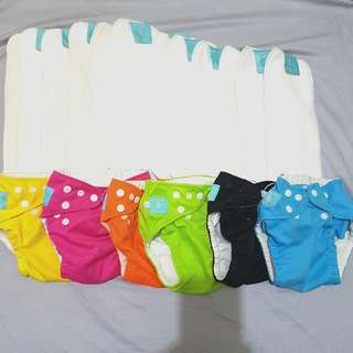 Charlie Banana Cloth Diapers And Inserts