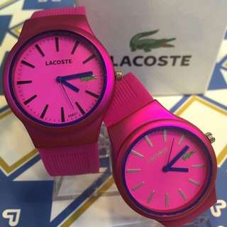 Lacoste Class A Couple Watches