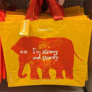 Sainsbury shopping bag