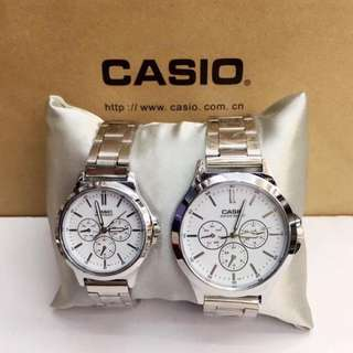 COUPLE WATCH (CASIO) + FREE COUPLE RING