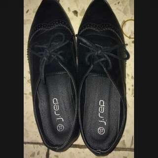 J Rep Black Gothic Shoes