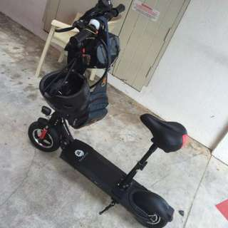 Powerful 10 inch electric scooter **SPEED GHOST** for RENT