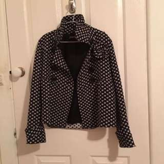 Princess Highway Black and White Love Heart Jackets