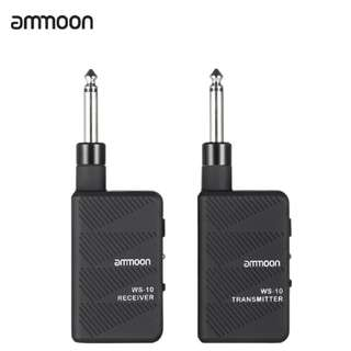 Ammoon WS-10 Wireless Receiver Transmitter For Electric Guitar Or Bass