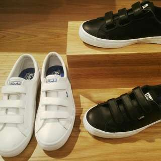 KEDS STREP LEATHER NEW DISC 10%