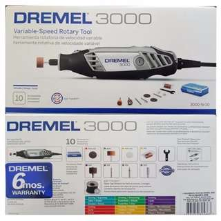 Dremel 3000 N 10 Free Delivery in all NCR Area Cash on Delivery Nationwide