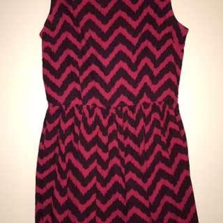 GORMAN Zig Zag Dress Size 10
