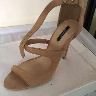F21 Brown Heels