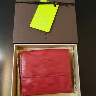 LV Epi Leather Wallet