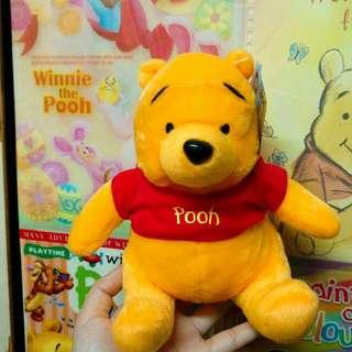 [全新]Winnie The Pooh Plush Toy 小熊維尼 公仔