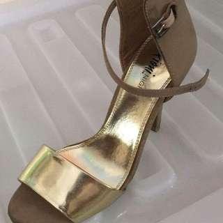 Payless Gold Heels